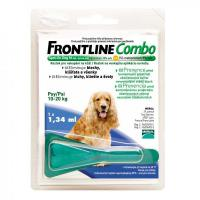 FRONTLINE Combo spot on dog M (pro psy 10-20kg) ampule 1x 1.34ml