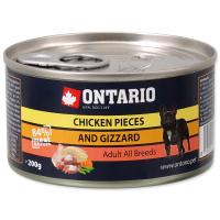 ONTARIO Chicken Pieces + Gizzard 200 g