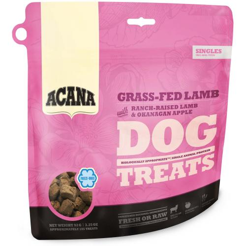 ACANA GRASS-FED LAMB DOG TREATS 92 g